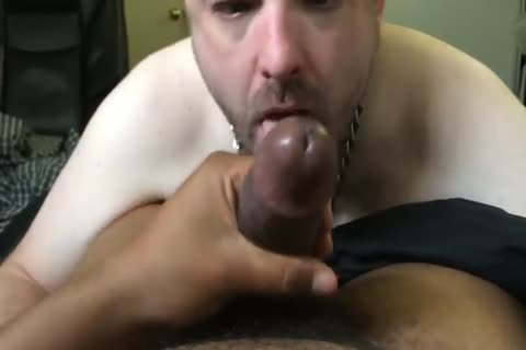 Pup Parker sucking & Throating master Mac's enormous darksome ramrod