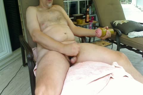 Please Forgive The Pink Pubs And The Poor Red Crotch.  I Tried To Color My Pubes Red, But It Came Out Pink!  LOL Daddy Has The abode To Himself, So that man Goes Out On The Front Porch With Cars Driving By On The Road.  It Turns Out That Having his n