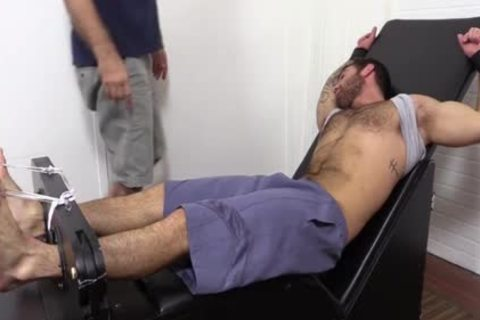Flaming brunette Hunk tied Up And Getting Foot Tortured For pleasure HD dirt Taped - SpankBang