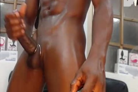 new Shave  black twink Jamal With His truly enormous shlong