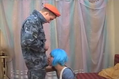 it's dream playtime: Soldier pokes lusty teen
